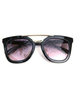 OOVY Kids Black Retro Sunglasses