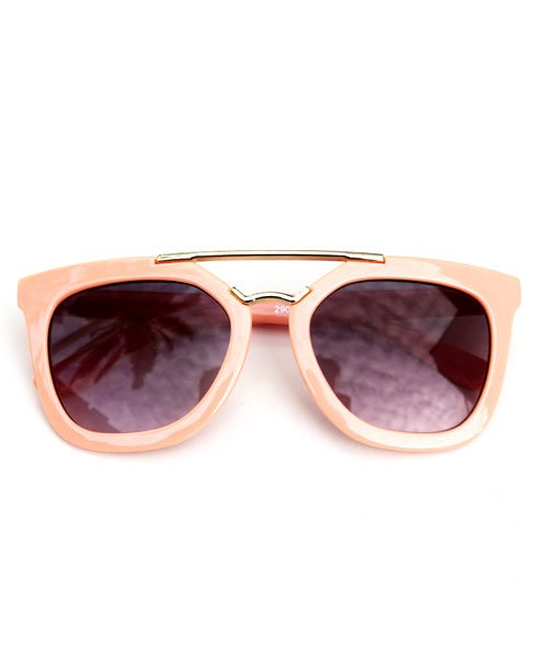 OOVY Kids Tan Retro Sunglasses