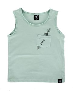 OOVY Mint Heart Breaker Singlet