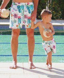 OOVY Kids Cactus Boardshorts