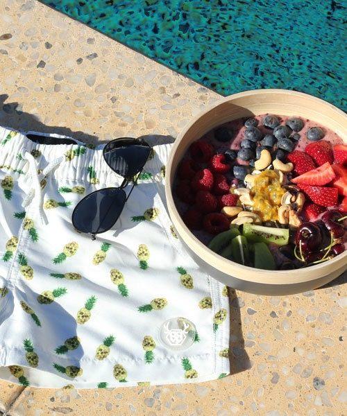 OOVY Kids Pineapple Boardshorts
