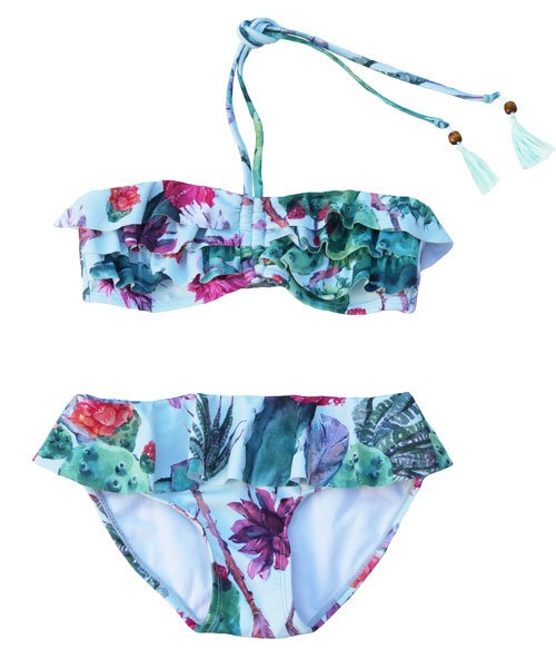 OOVY Kids Boho Cactus Bikini