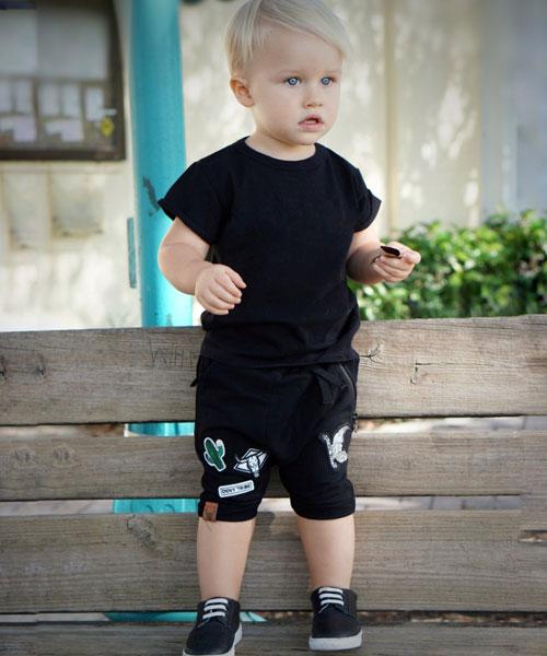 OOVY Black Tribe Shorts
