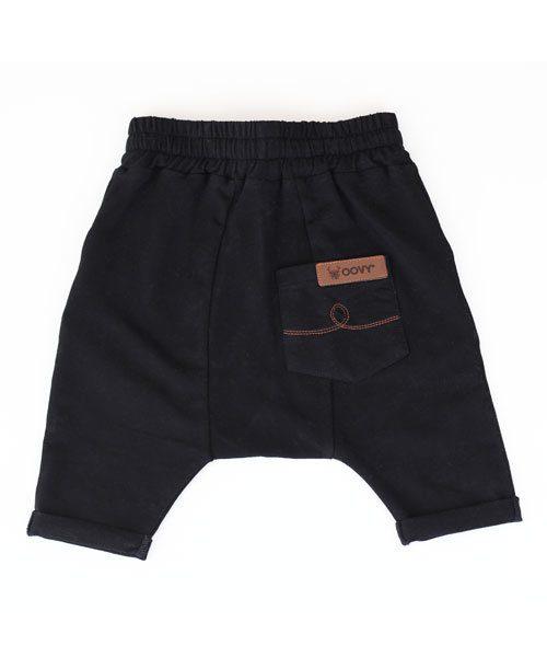 Unisex Black OOVY Tribe Shorts