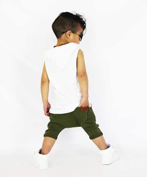 Khaki OOVY Tribe Shorts