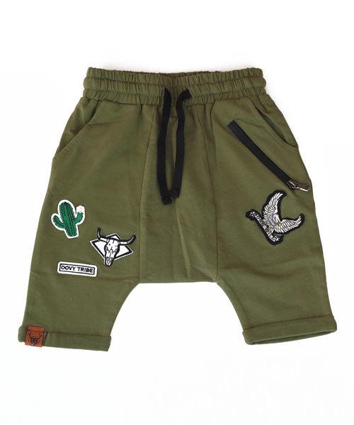Unisex Khaki OOVY Tribe Shorts