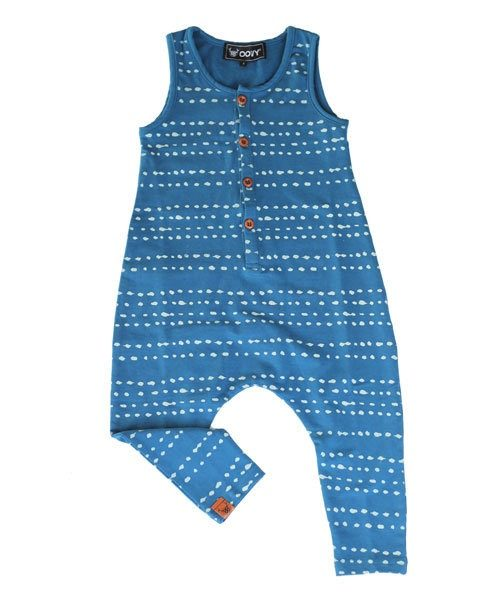 OOVY Indigo Splash Jumpsuit