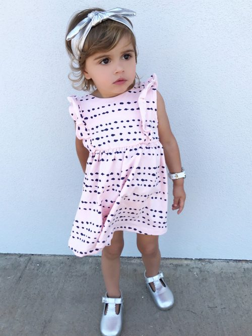 OOVY Kids Pink Splash Dress