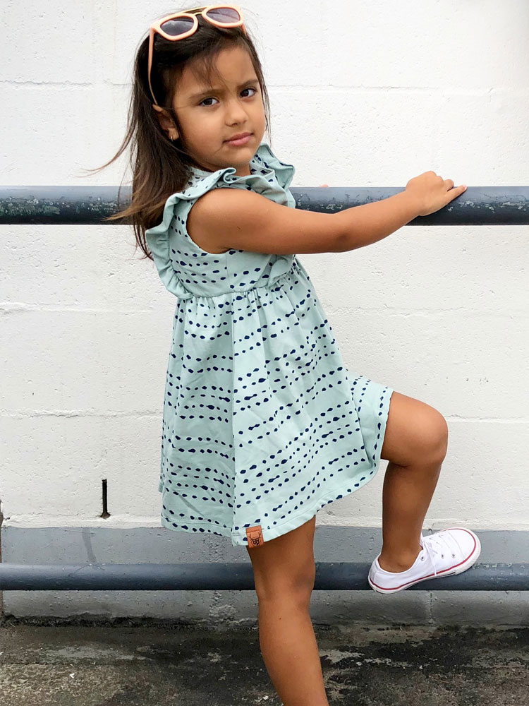 OOVY Kids Seafoam Splash Dress