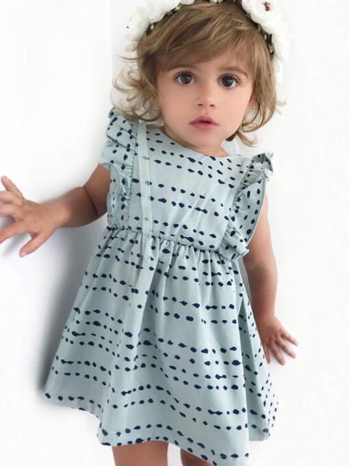 OOVY Kids Seafoam Splash Dress
