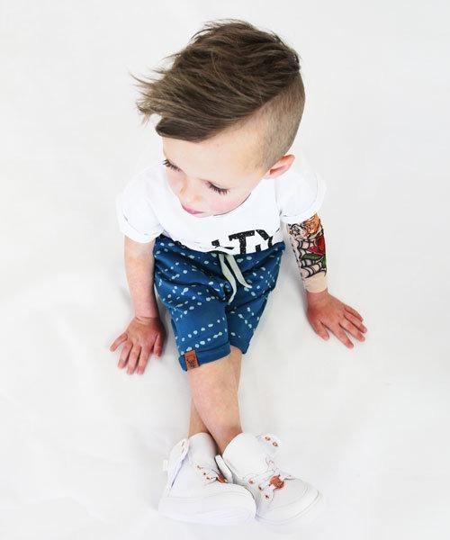 OOVY Kids Indigo Splash Shorts