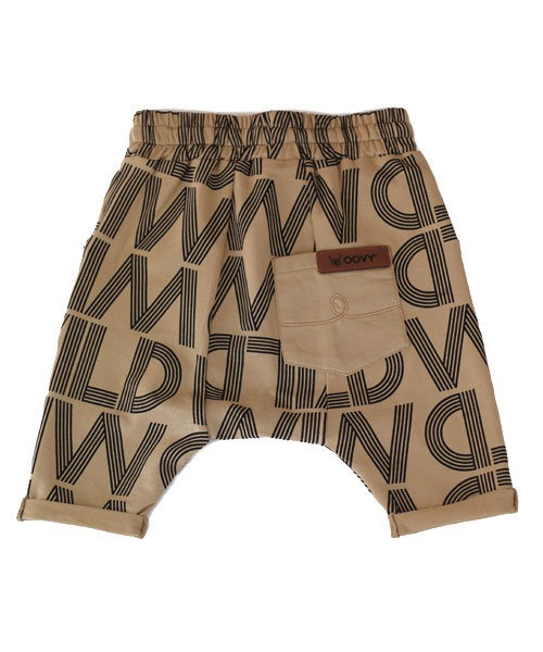 OOVY Kids Tan Wild Shorts