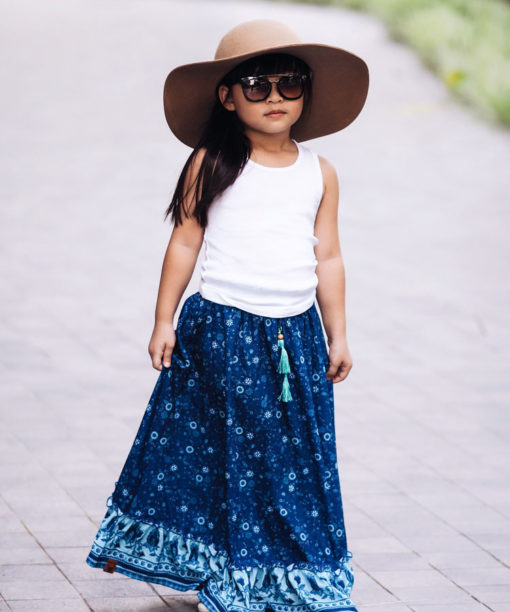OOVY Kids Wildflower Maxi Skirt