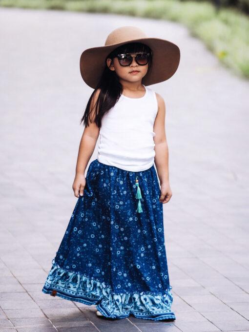OOVY Kids Wildflower Maxi Skirt