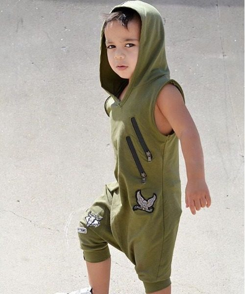OOVY Olive Tribe Playsuit