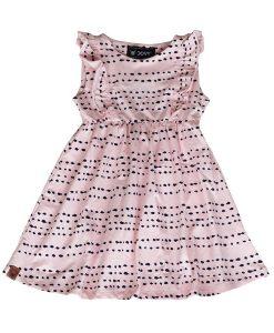 OOVY Pink Splash Dress