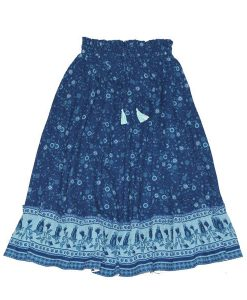 OOVY Wildflower Maxi Skirt