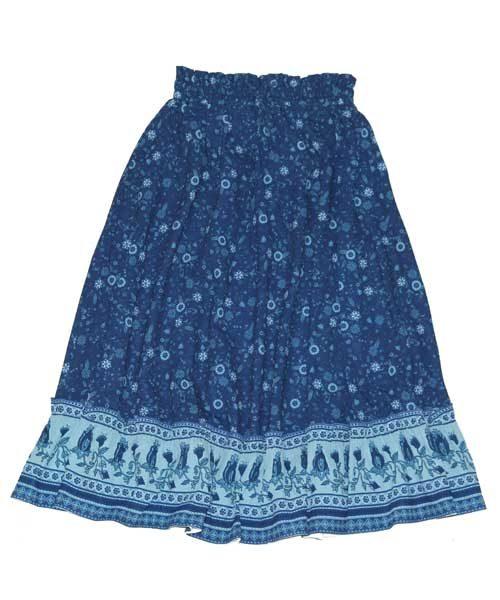 OOVY Wild Flower Maxi Skirt