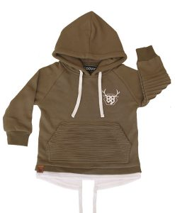 OOVY Khaki Tailback Fleece Hoodie
