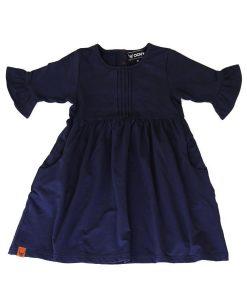 OOVY Kids Navy Bell Sleeve Dress