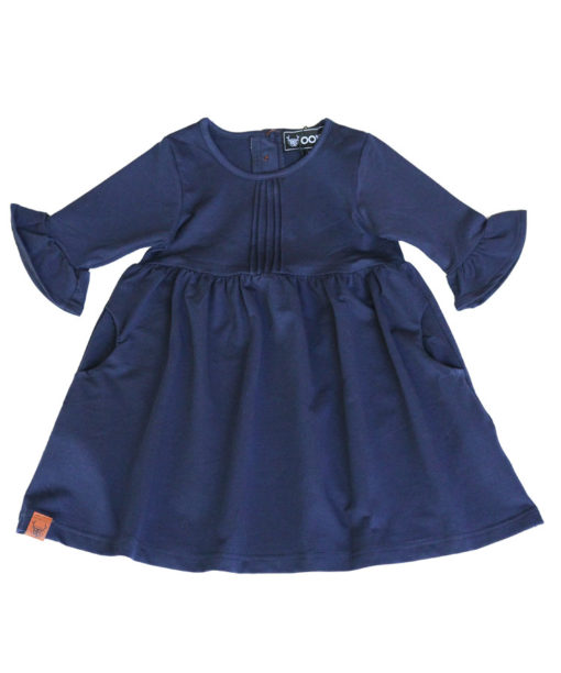 OOVY Kids Girls Navy Dress