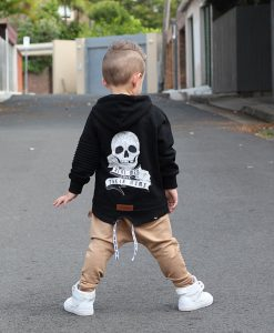 OOVY Kids Real Men Love Their Mums Fleece Hoodie