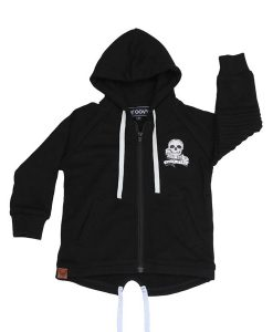 OOVY Kids Black Zip Fleece Hoodie
