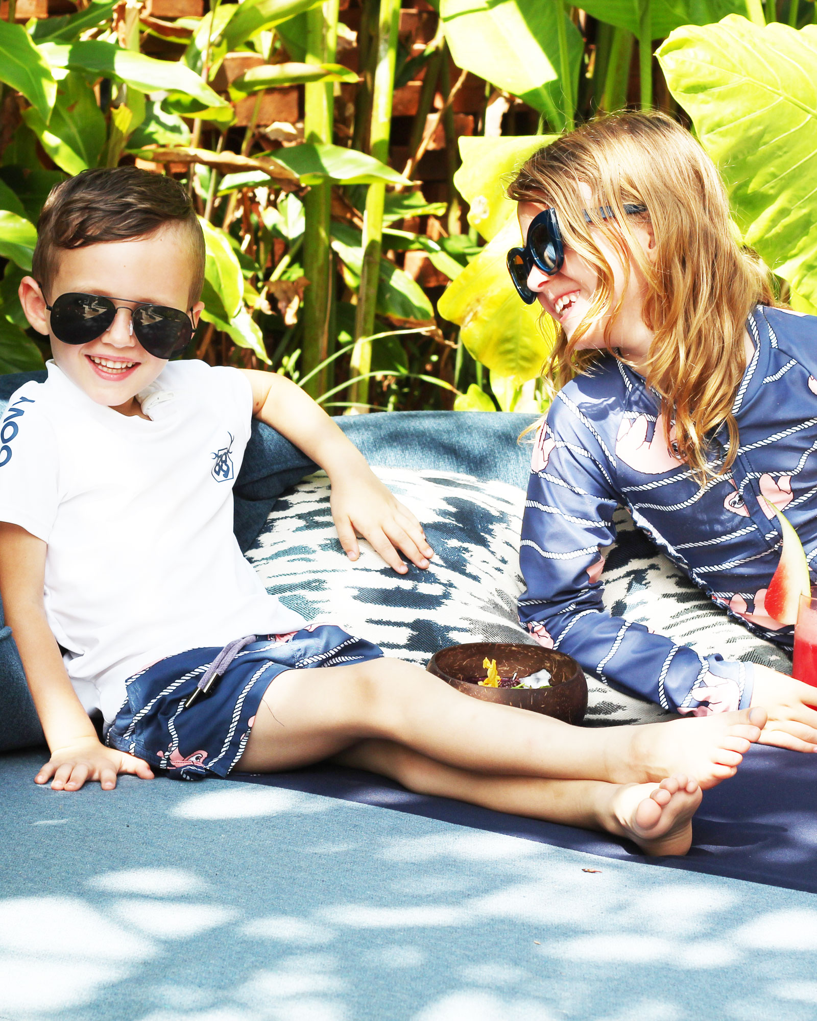 OOVY KIDS Lazy Days Sloth Swimwear