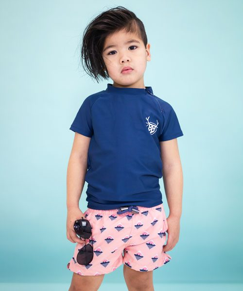 OOVY Kids Rashie Deep Ocean