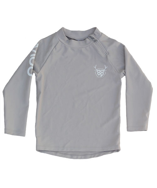 OOVY Kids Rashie Long Sleeve Stone