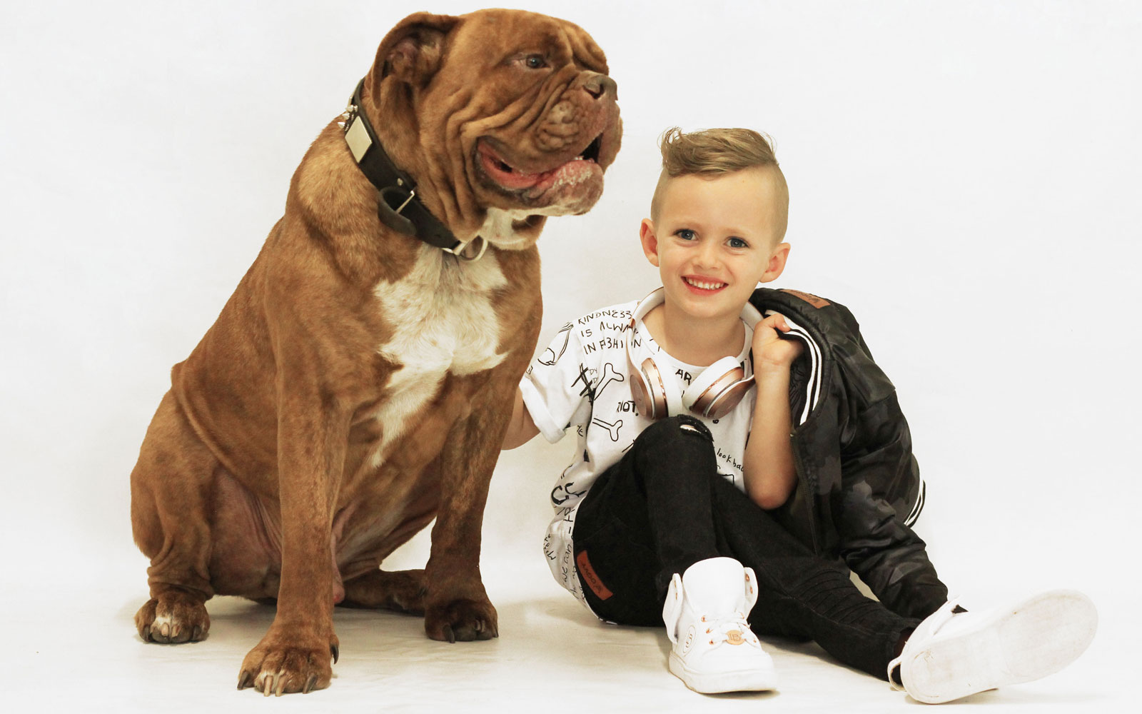 OOVY Kids Boys and his dog biggie smalls
