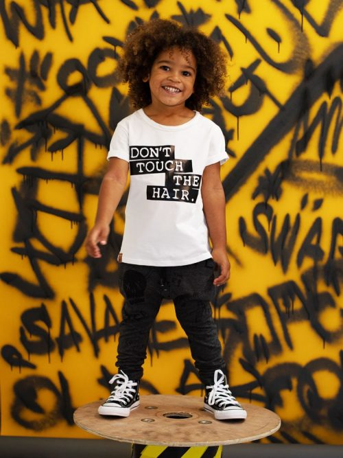 OOVY Kids Dont' Touch The Hair Tee