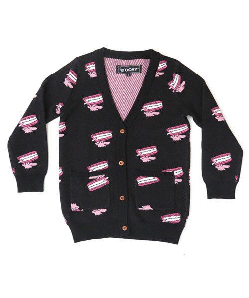 OOVY Kids Unisex Socialite Knit Cardigan