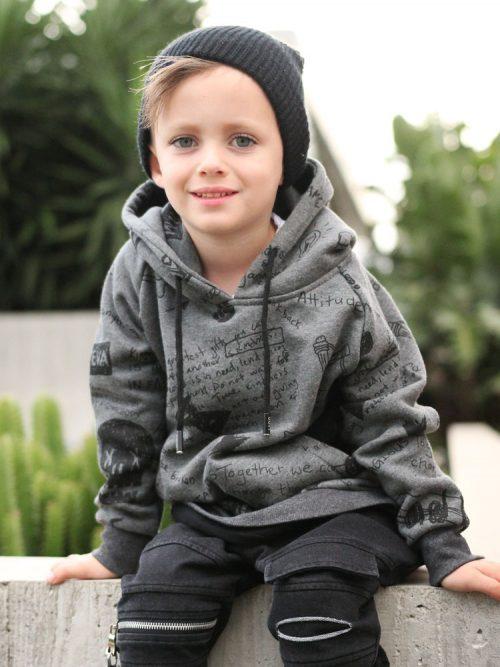 OOVY Kids Bandit Hoodie Sweater
