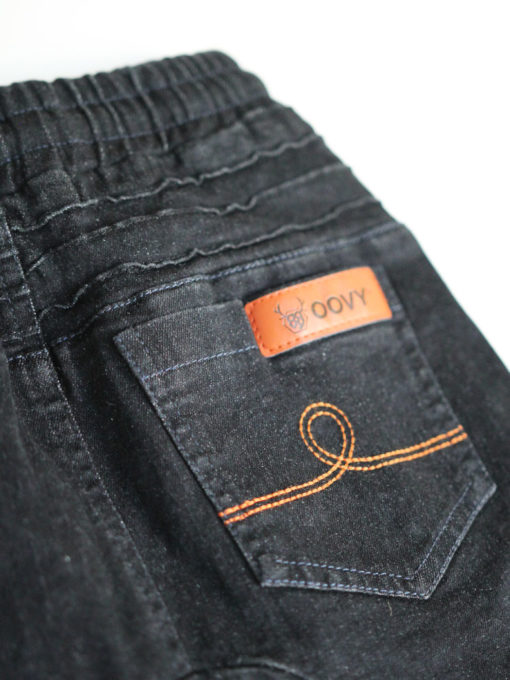 OOVY Kids Black Distressed Denim Jeans
