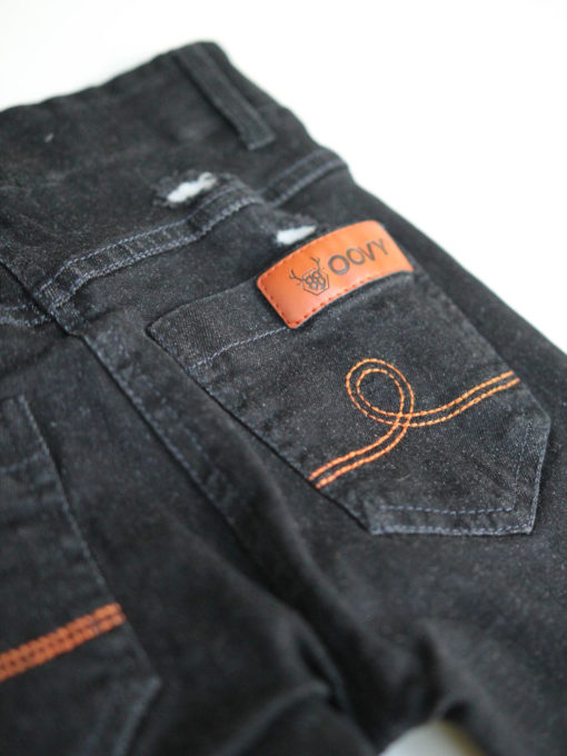 OOVY KIds Black Wash Denim Jegs