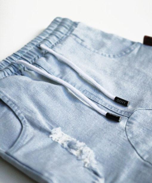 OOVY Kids Blonde Wash Distressed Denim Jeans