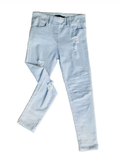 OOVY KIds Blonde Wash Denim Jegs