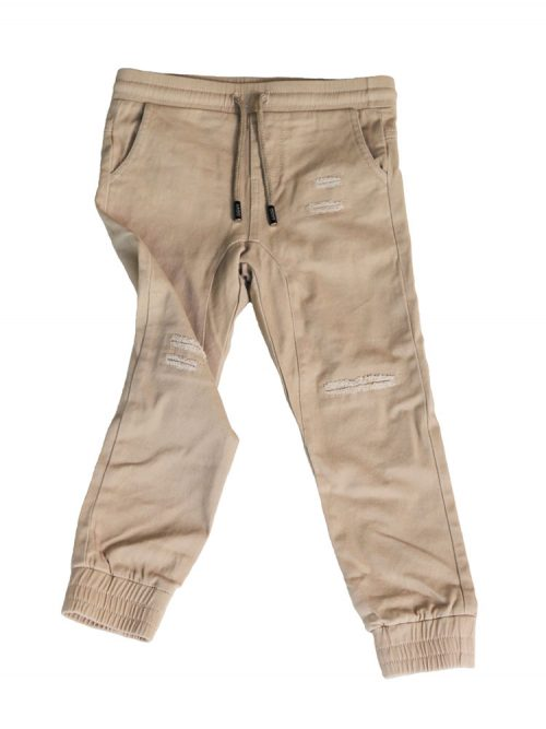 OOVY Kids Latte Distressed Chinos