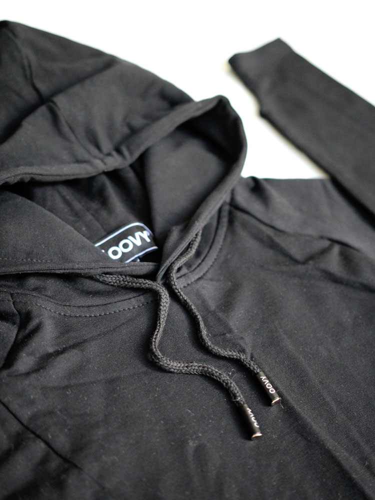 OOVY Kids Midnight Hooded Top