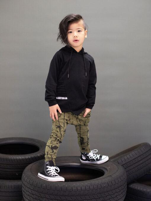 OOVY Kids Black Long Sleeve Top