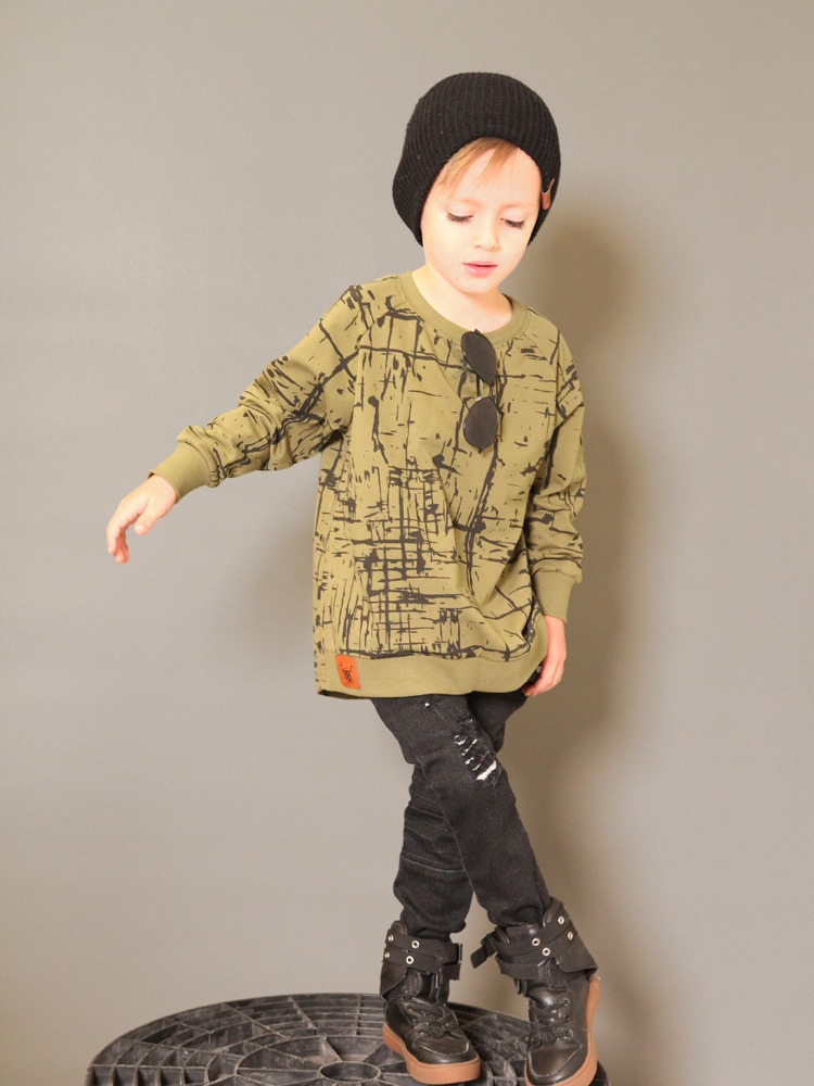 OOVY Kids Crew Neck Sweater