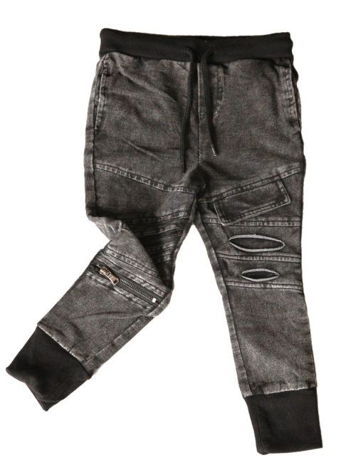OOVY Kids Acid Wash Jogger Pants