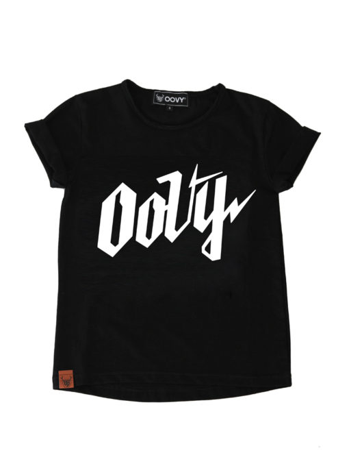 OOVY Kids Signature Tee Black
