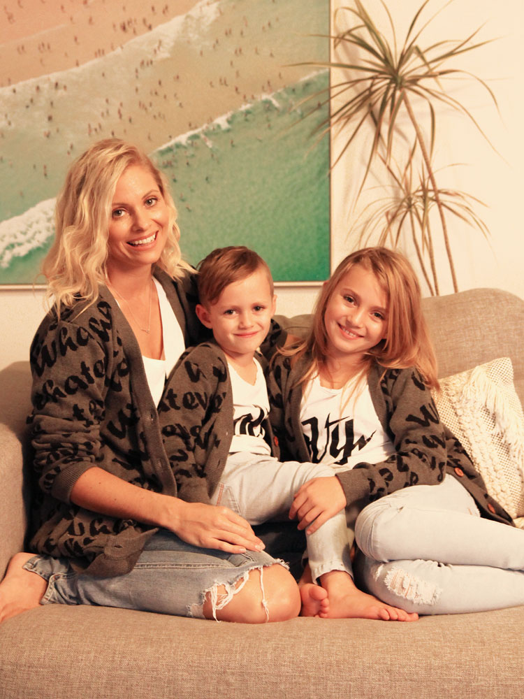 OOVY Kids Mothers Day Socialite Cardigans