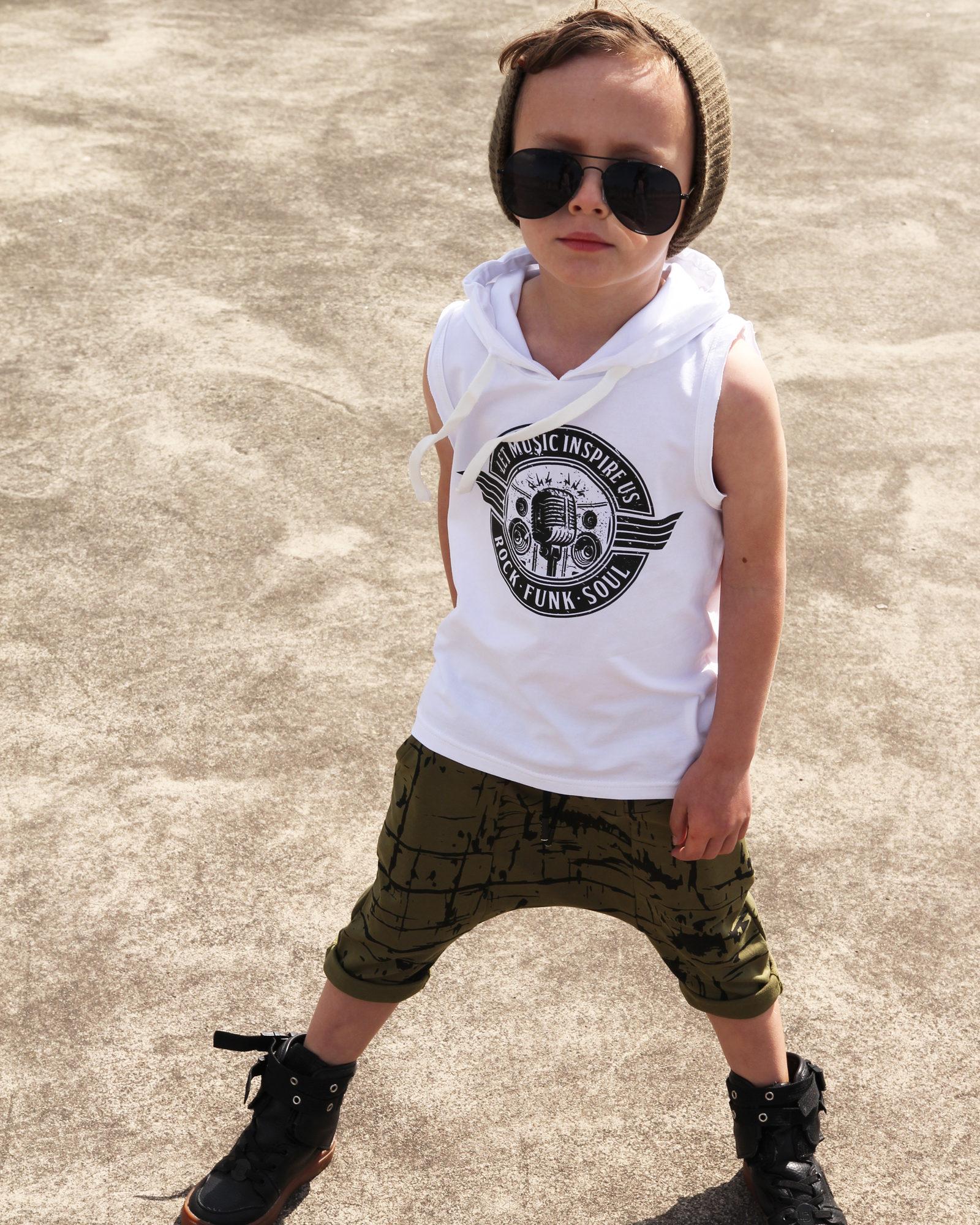 OOVY Kids Rock Hooded Tank