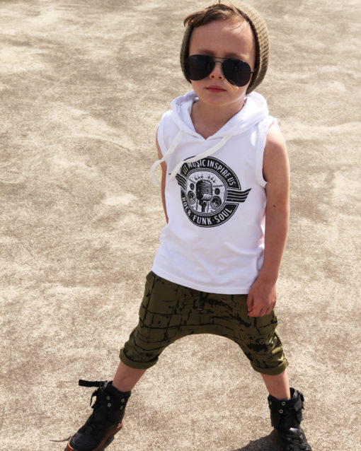 OOVY Kids Rock Hooded Tank