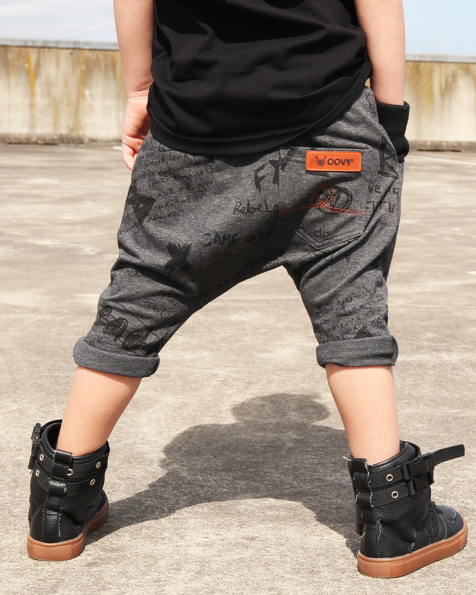 OOVY Kids Bandit Shorts