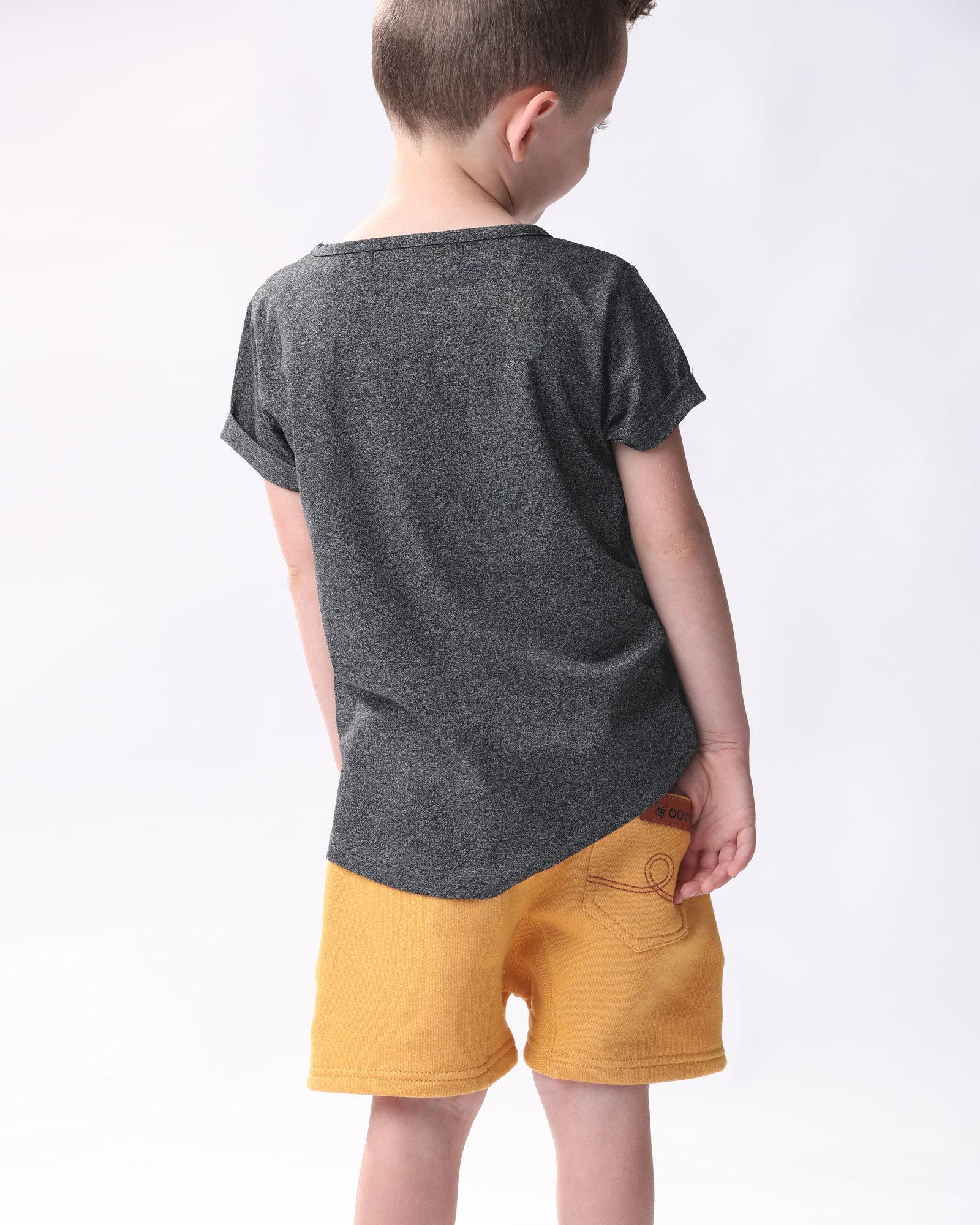 OOVY Kids Mustard Luxe Shorts