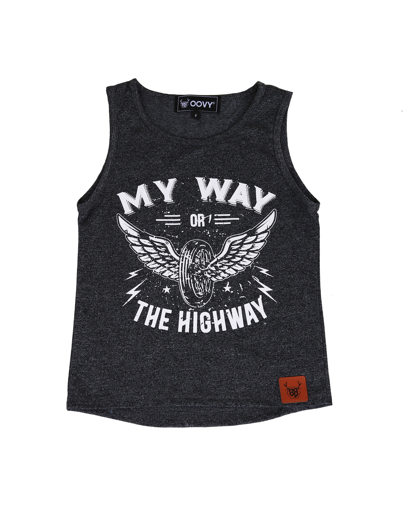 OOVY KIds My Way Or The Highway Tank